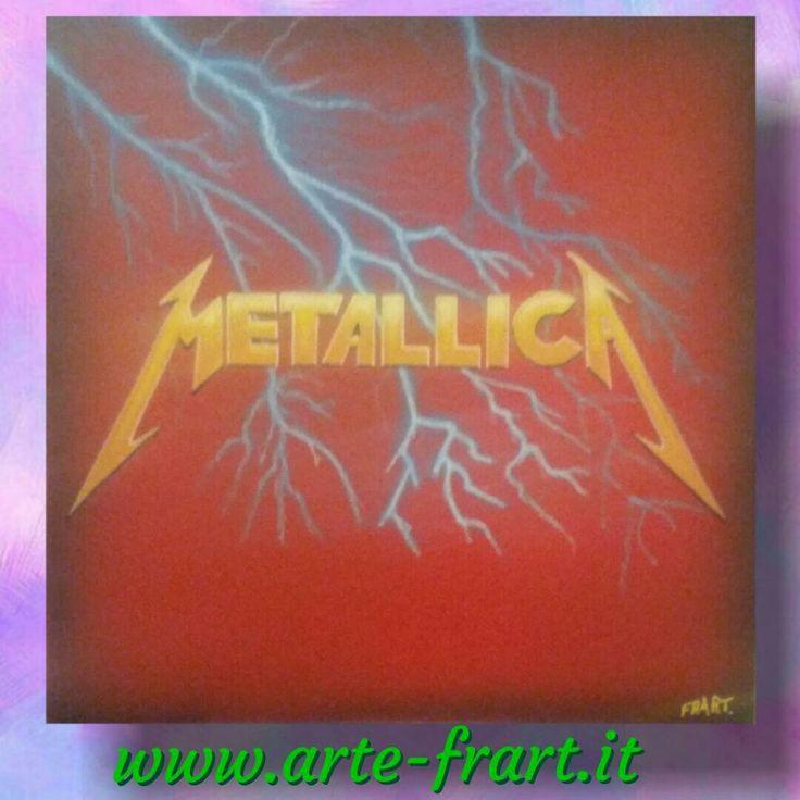 Metallica instagram arte.frart #airbrushart