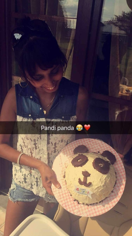 Gâteau panda pour ma filleule