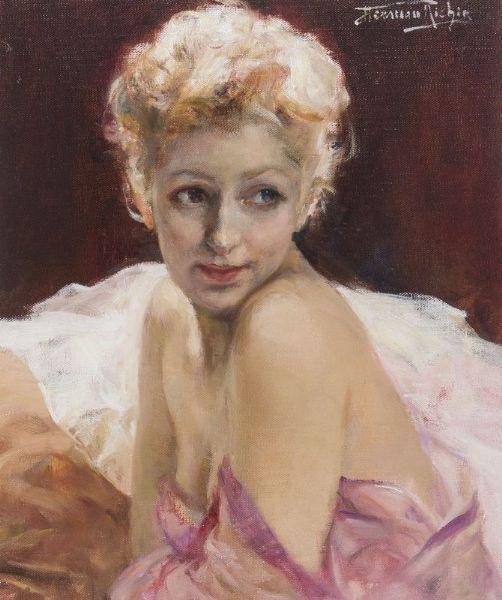 Herman Richir - Portrait d'une blonde