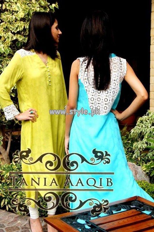 Tania Aaqib Eid-Ul-Fitr Dresses 2013 For Girls