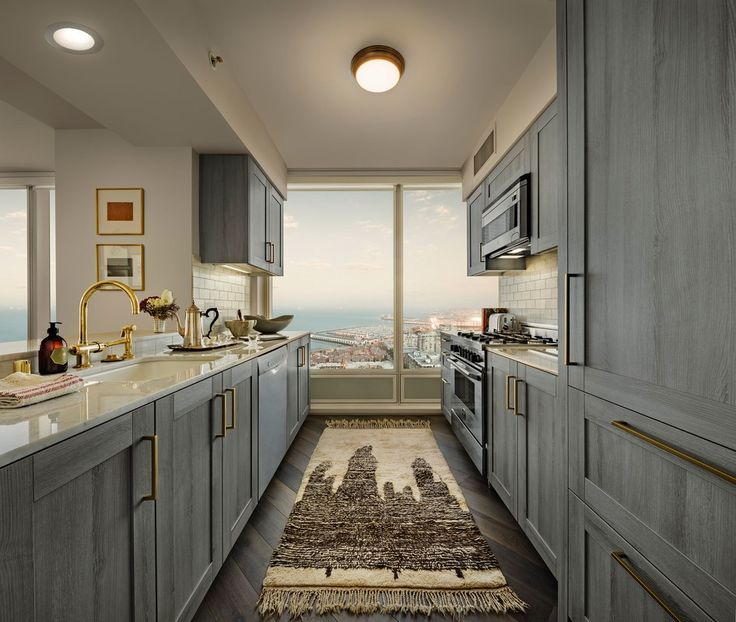 Gray Galley Kitchen: 3093 Best Rooms I Love Images On Pinterest