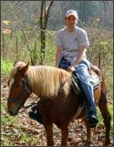 Horseback Riding - Great Smoky Mountains National Park - Cherokee NC - Smokemont