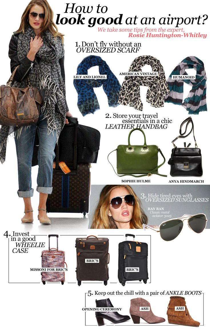 rosie huntington whiteleys airport style Home