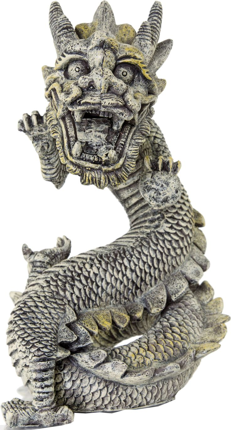 Stone Dragon Aquarium Ornament