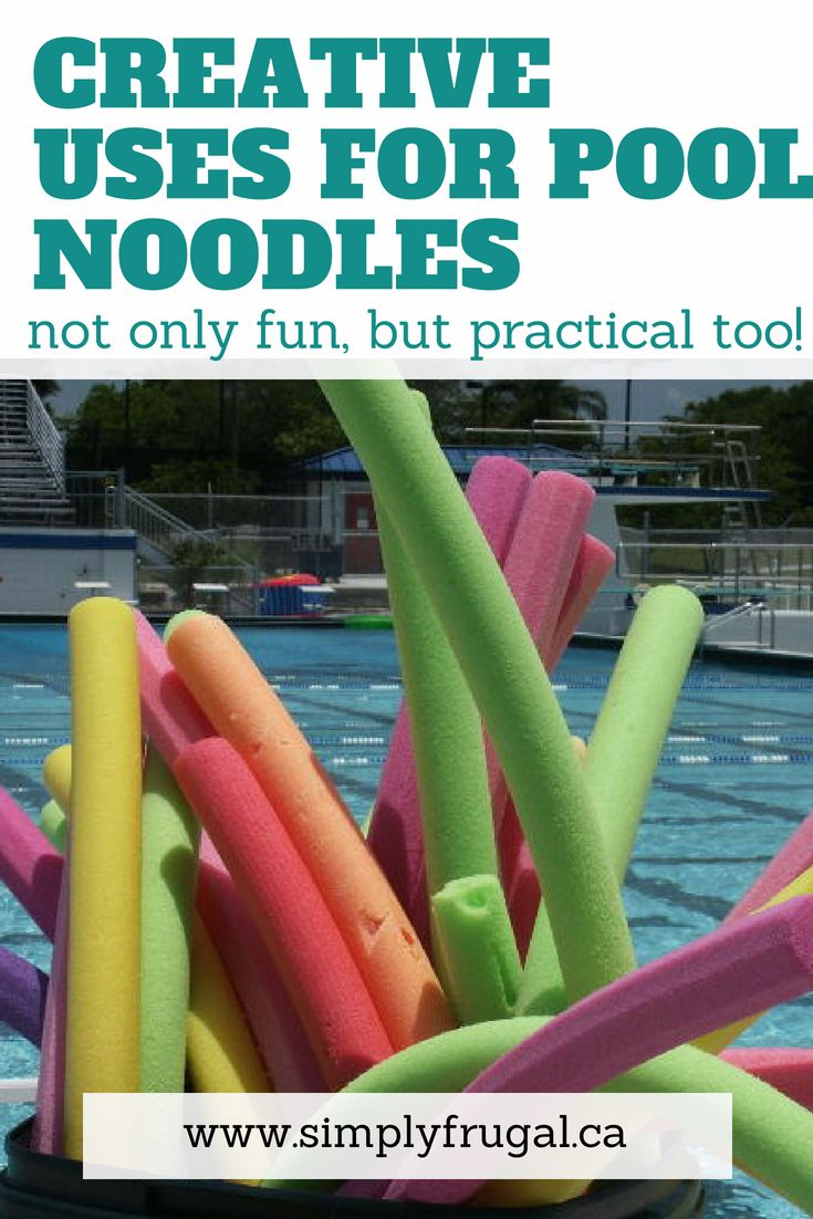 7 Creative Uses For Pool Noodles Money Saving Tips Grocery