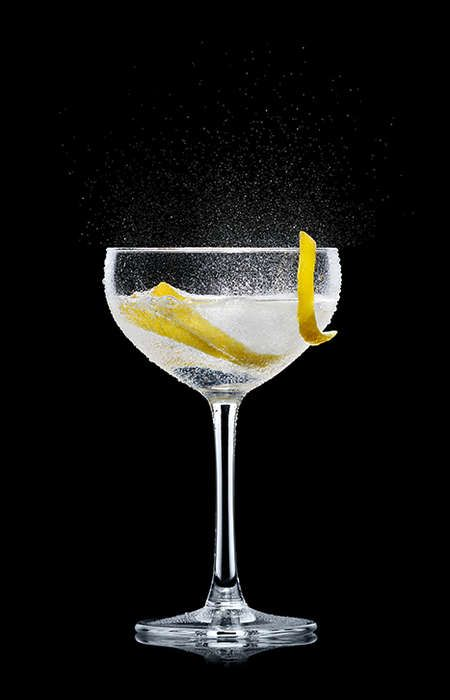 Vesper Martini Splash Up