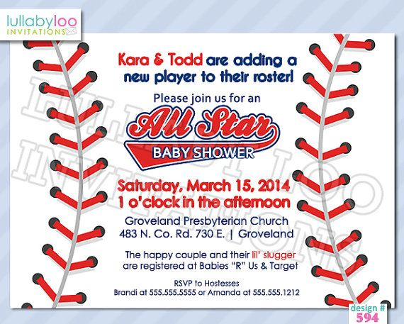 20 best Baseball baby shower images on Pinterest Baseball baby