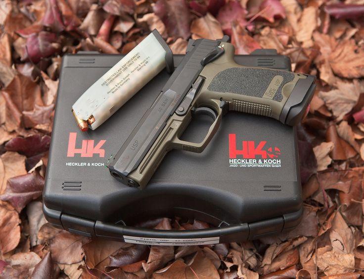 Heckler Koch HK USP40 Custom Combat pistol Find our speedloader now! http://www.amazon.com/shops/raeind