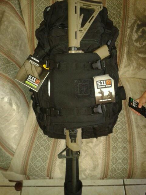 Bulto 511 de supervivencia para cargar un ar15: Survival, Bulto 511, Tactical 5 11
