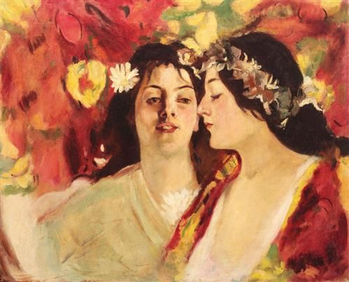 Spring (Two Muses) - 1898