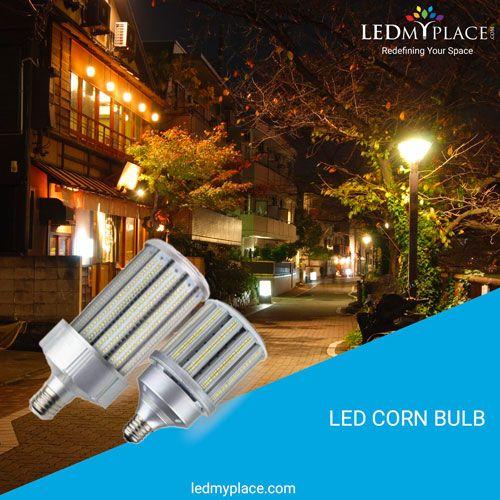 Led Corn Bulb Ledmyplace Usa Outdoor Lighting Bulb Led
