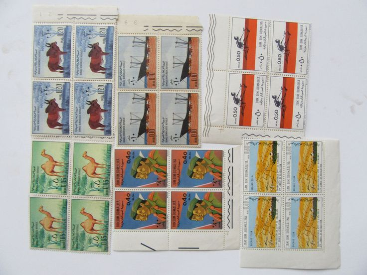Lot of 24 pcs Somalia Stamps not used  #Verygoodquality
