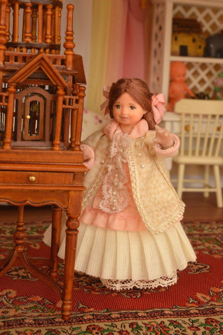 Куклы для кукольного домика 1:12