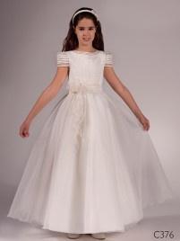 vestido de comunión C376  www.mariasalas.es
