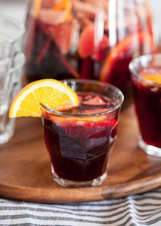 How To Make Sangria — Cooking Lessons from The Kitchn.  This is very close to the awesome Sangria my mother and her friends learned to make while living in Spain.