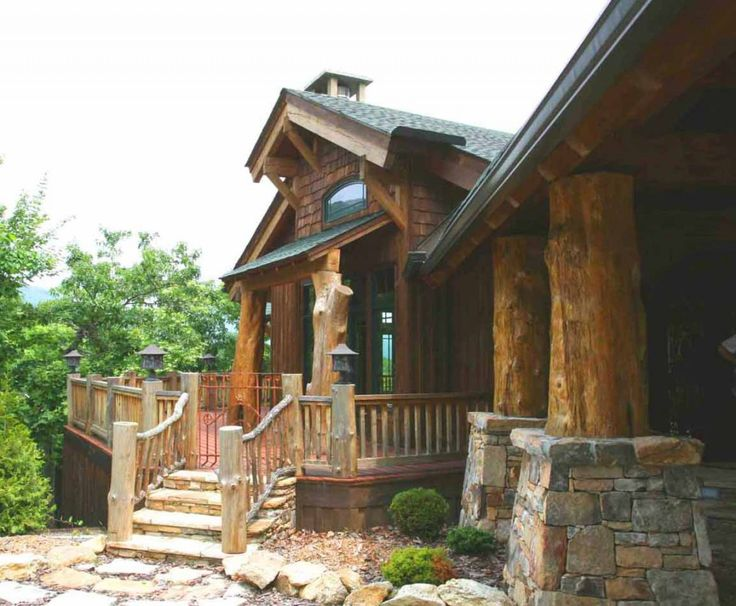 Rustic Mountain Homes Design ~ Http://lovelybuilding.com/good Rustic