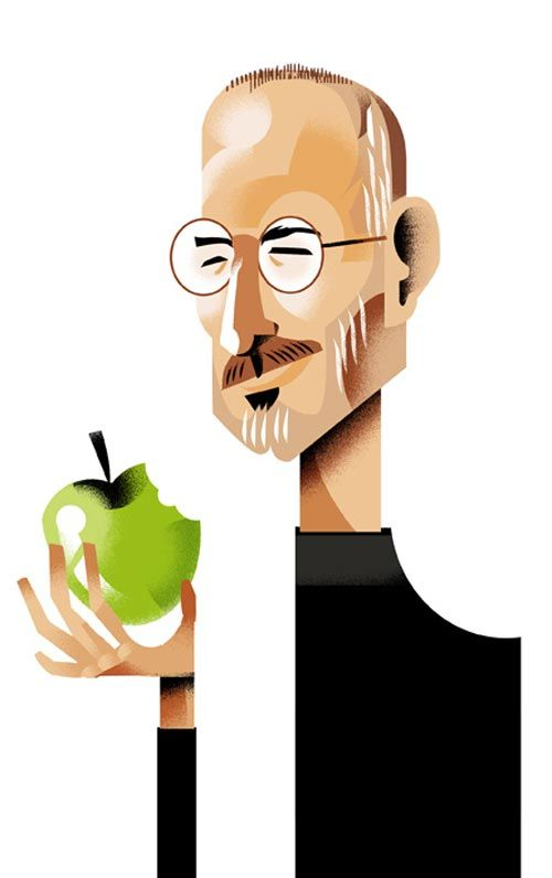Steve Jobs by Alfredo Caceres