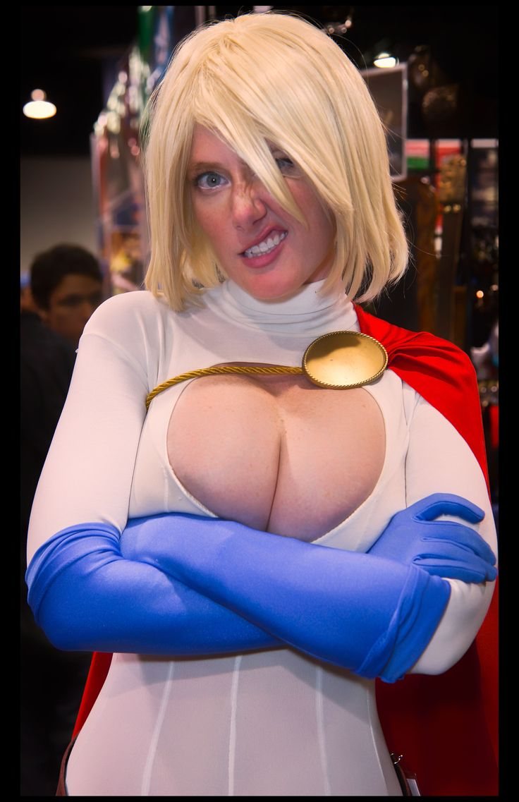 Power girl cosplayers xxx