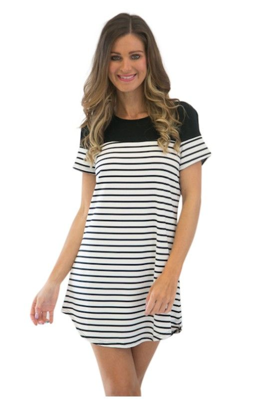 Next In Line Tunic Dress- Shop The New Collection Today! Shop Only at A$34.95.