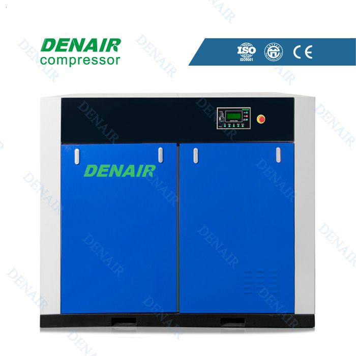 Dry oil-free air compressor Model:DWW-45A Power(KW):45 Working pressure(Mpa):0.75 Air delivery(m3/min):7.87 Noise[dB(A)]:69 Dimension(mm L*W*H):2000*1200*1650 Weight(kg):2600 Qualification And Quality Certificate: GC energy-saving Certification, CE European Union standardCertification, ISO9001 the United Kingdom LRQA Certification