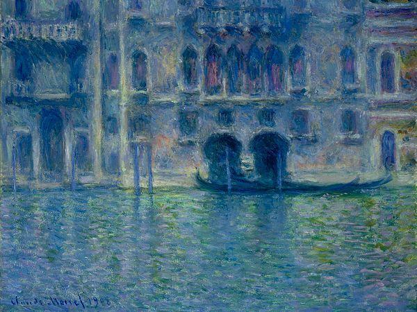 """Claude Monet """"Palazzo da Mula"""" (automne 1908)"""