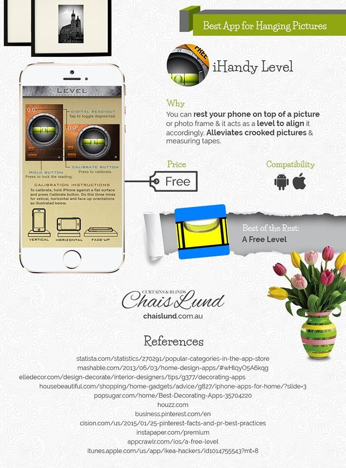 Virtual Visual Helpers! Best Interior Design Apps-Infographic  | Home Decor Inspiration Available Online Today! Check it out at http://diyready.com/best-interior-design-apps-infographic/