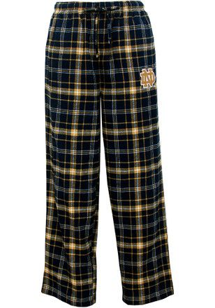 Notre Dame Fighting Irish Mens Navy Blue Ultimate Sleep Pants