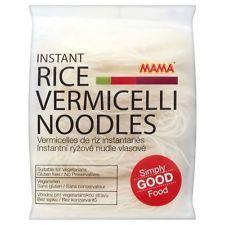 Mama instantánea arroz Vermicelli Otoñal De Fideos (225g) - Pack De 2