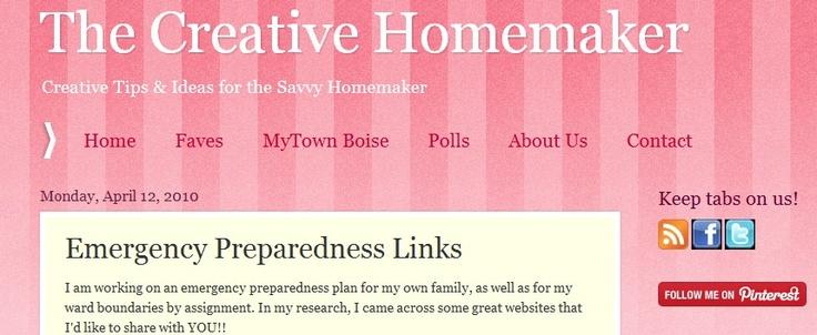 A list of great #emergency #preparedness web sites!