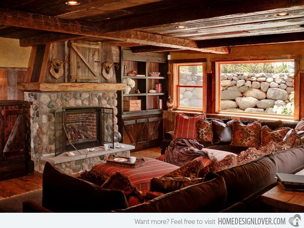 The 25+ Best Rustic Sectional Sofas Ideas On Pinterest   Leather Sectional  Sofas, Brown Sectional And Leather Sectional Part 69