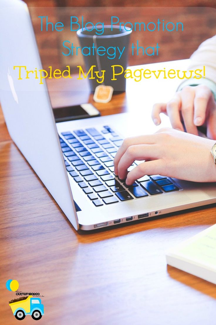We are all looking for more pageviews in blogging, so I'm sharing my blog promotion strategy that more than tripled my monthly pageviews in two months!