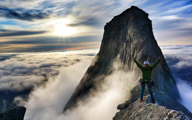 Stetind on I love climbing  - use #HattvikaLodge as your Base Camp for exciting guided adventures and activities in Lofoten