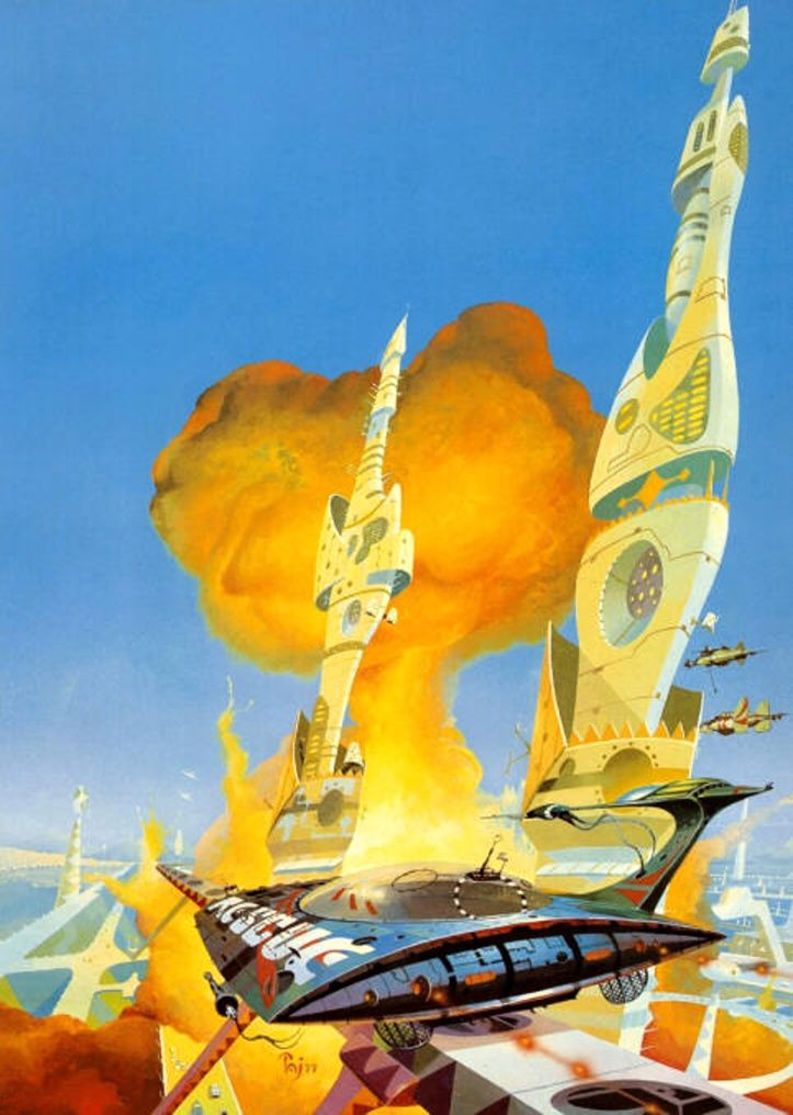 sciencefictiongallery:  Peter Jones