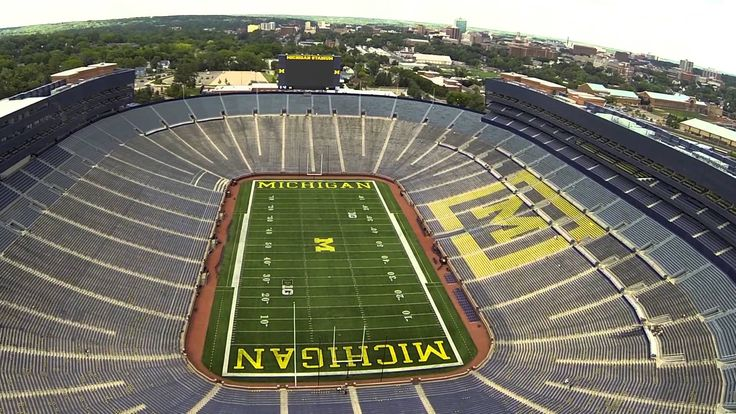University of Michigan Wolverines Stadium.