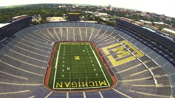 University of Michigan Wolverines Stadium.