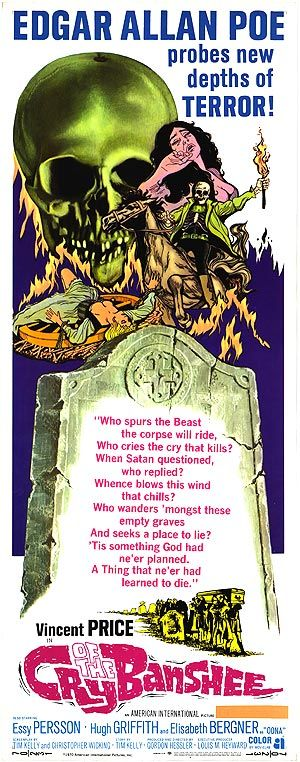 Cry of the Banshee (1970) Stars: Vincent Price, Essy Persson, Hilary Heath, Carl Rigg ~ Director: Gordon Hessler