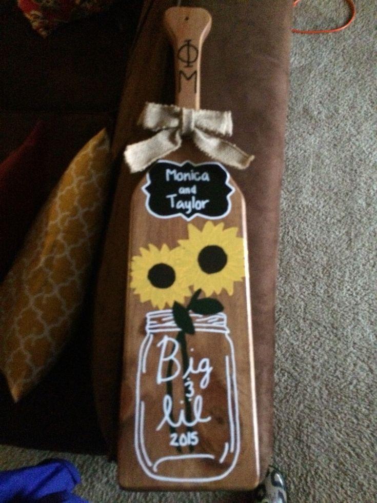 Best 25+ Big little paddles ideas on Pinterest   Sorority paddles ...