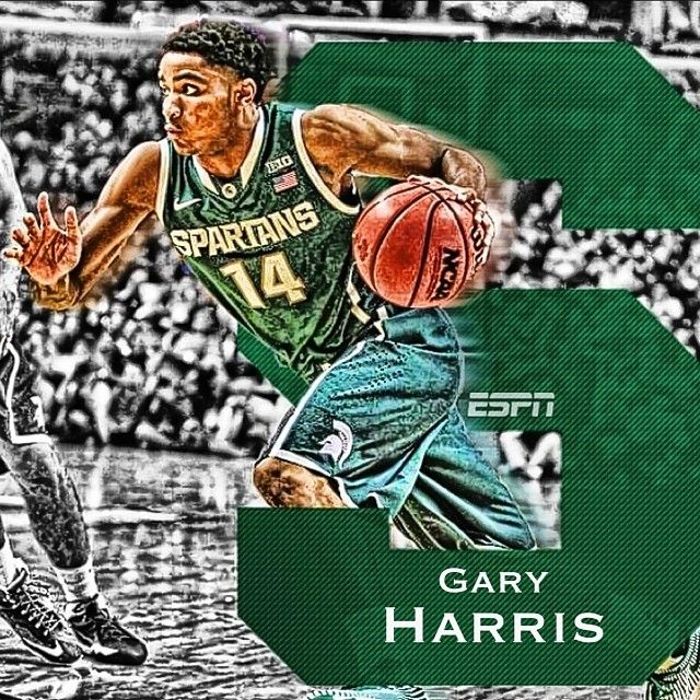 Great game a team win for Gary Harris and the Spartans. #msu #michiganstate #spartan #spartans #spartyon #spartanswill #ncaa #basketball #tournament #journytourny #finalfour #garyharris #swag #like #dope #gogreen #gowhite #green #white #kentucky #wildcats #1 #2 #Padgram