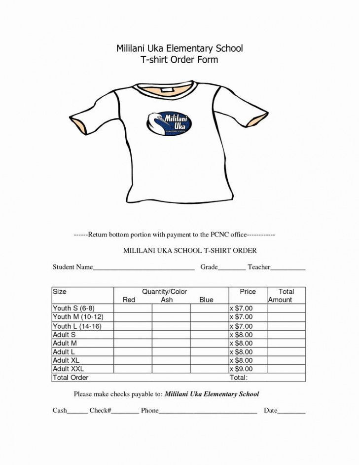 Pin On Order Templates