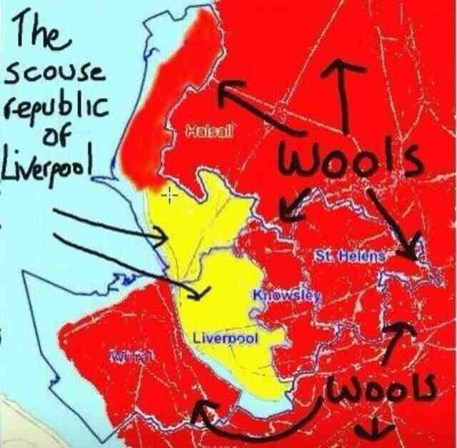 Scouse republic of Liverpool