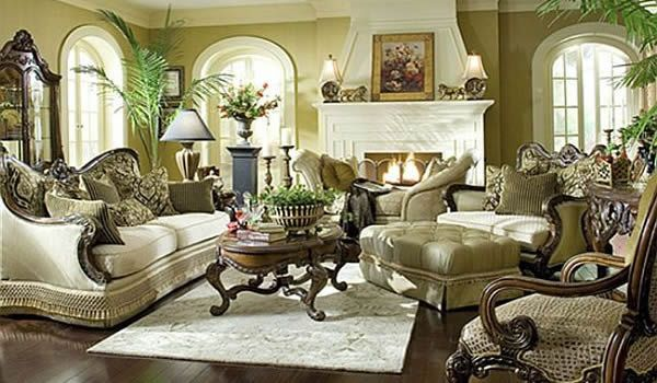 old world bedrooms photos | Usher in Old World Charm with Traditional Living Room Furniture