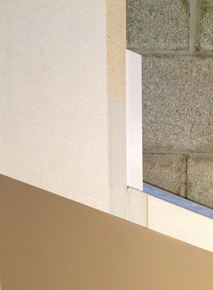 Cross Section View Of The Wahoo Walls Tape Edge Basement Finishing Wall System Panel Looks