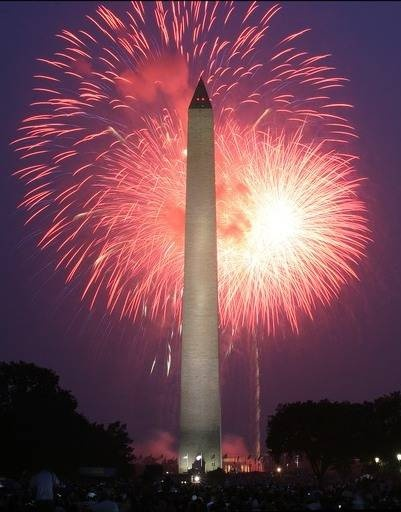 july 4th fireworks dc time