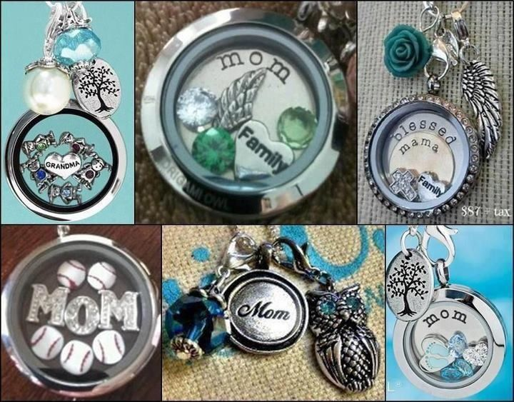Mothers Day Origami Owl locket ideas  Go to www.katieg.origamiowl.com to place your order!   Place by April 29th in order to pick ground shipping and get on time!