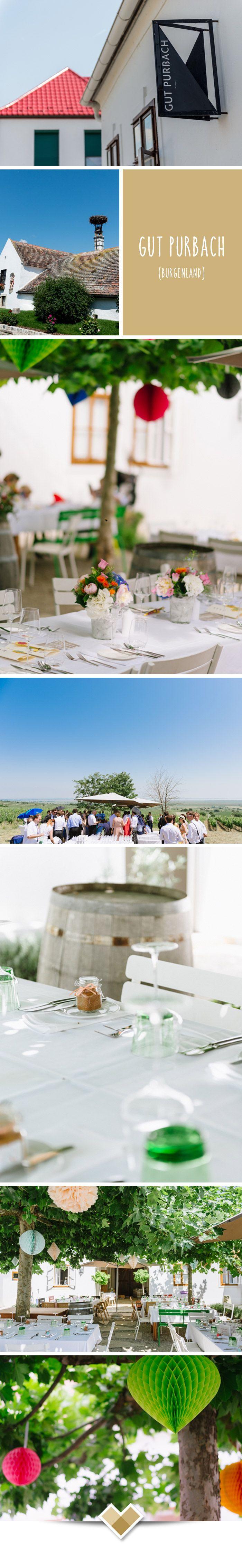 Das Gut Purbach bietet alles was man sich vorstellt, wenn man an Burgenland und den Neusiedlersee denkt. Störche, Wien, weites Land und Lebensfreude. Genau das wird auch bei jeder Hochzeit am gut zum Credo! Bilder: http://www.belleandsass.com/  Mehr Bilder dieser tollen Location gibt es unter http://hochzeits-location.info/hochzeitslocation/gut-purbach#Fotos