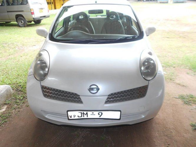 Car Nissan March AK12 For Sale Sri lanka. 2nd Owner Modal year: 2002  Mileage:170470 KM Auto transmission Full Option Auto A/C Power shutters Power steering ABS brake Dual air bags Intelligent key New Shocks & Tyres Can be inspected at Negombo & EPZ Katunayake, Contact: 0778558857 (Grazer)