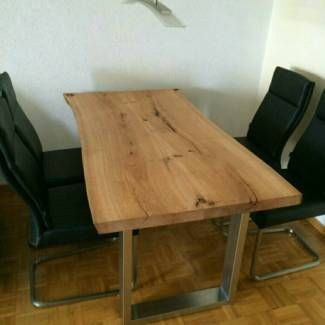 Eiche auf Maß aus der Region! Waschtisch Esstisch Holz Baumkante in Niedersachsen - Braunschweig | Heimwerken. Heimwerkerbedarf gebraucht kaufen | eBay Kleinanzeigen
