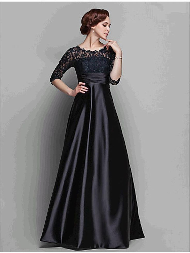 Discount 2015 New Fashion Lace A Line Mother of The Bride Dress Half Sleeve Wedding Party Dress Long Prom Dress Plus Size Dress Bridal Mother E49 Online with $122.52/Piece | DHgate