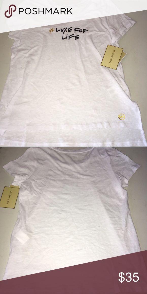 Michael Kors T-Shirt NWT Size Large Michael Kors T-Shirt NWT Size Large Michael Kors Tops Tees - Short Sleeve