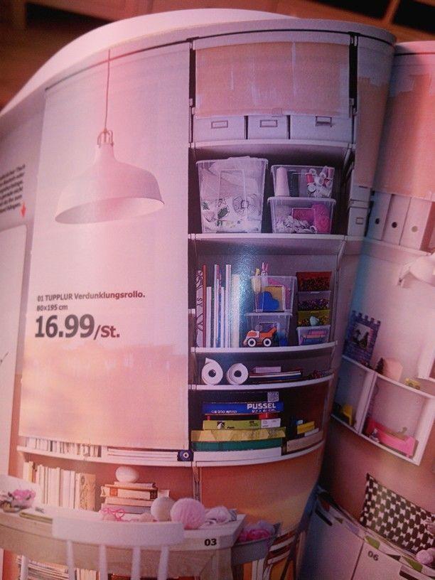 rollos vor regale n hecke pinterest rollos regal und n hecke. Black Bedroom Furniture Sets. Home Design Ideas